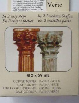 Patina-zelená,SET(obsahuje 2x59 ml flašky)