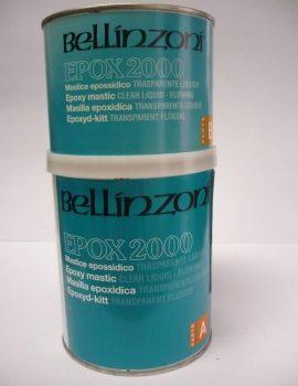 MASTIK 2000 epoxid. tekutý - transparentný, 1,5 kg