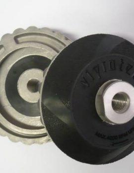 Príruba na brúsne dia kotúče, priem. 100 mm, M 14 VIBROSTOP, ŠNEK