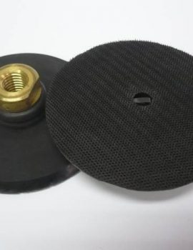 Príruba na brúsne dia kotúče, priem.100mm, M 14, GUMAFLEX, suchý zips ( pružná)