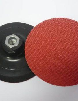 Príruba na brúsne dia kotúče, priem.120mm, gum.+molitan