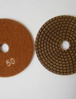 Brúsne dia flex kotúče - suchý zips, priem.100 mm, keramická väzba, zrnitosť: 50