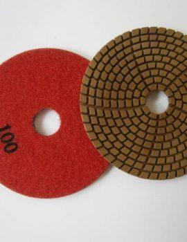 Brúsne dia flex kotúče - suchý zips, priem.100 mm, keramická väzba, zrnitosť: 100