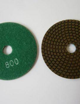 Brúsne dia flex kotúče - suchý zips, priem.100 mm, keramická väzba, zrnitosť: 800