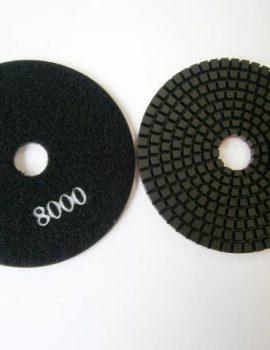 Brúsne dia flex kotúče - suchý zips, priem.100 mm, keramická väzba, zrnitosť: 8000