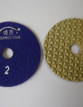 Brúsny kotúč, suchý zips, priemer 100 mm, suché brúsenie, č.2