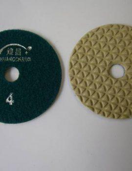 Brúsny kotúč, suchý zips, priemer 100 mm, suché brúsenie, č.4
