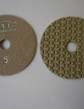 Brúsny kotúč, suchý zips, priemer 100 mm, suché brúsenie, č.5