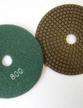 Brúsne dia flex kotúče - suchý zips, priem.125 mm, keramická väzba, zrnitosť: 800
