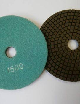 Brúsne dia flex kotúče - suchý zips, priem.125 mm, keramická väzba, zrnitosť: 1500