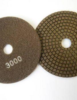 Brúsne dia flex kotúče - suchý zips, priem.125 mm, keramická väzba, zrnitosť: 3000