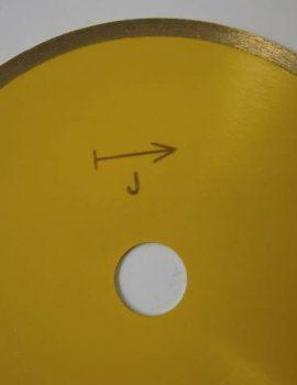 Dia rezný kotúč na keramiku,priem. 350 mm, rezanie za mokra