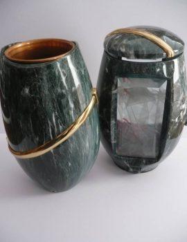 Váza + lampa