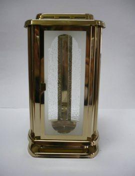 AMV - Lampáš - zlatý, kruhový, zrezaný vpredu, 01d1