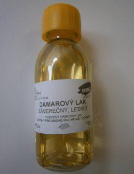 Damarový lak, 150 ml, lesklý