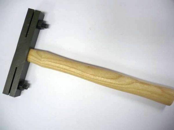 Štokovacie kladivo, ručné Bartsch, 25 x 25 mm