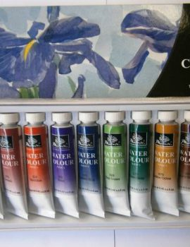 Sada akvarelových farieb, 12 x 12 ml
