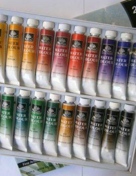 Sada akvarelových farieb, 24 x 12 ml