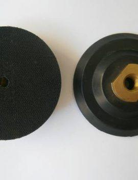 Príruba gumová, pevná, na suchý zips, priem.100mm