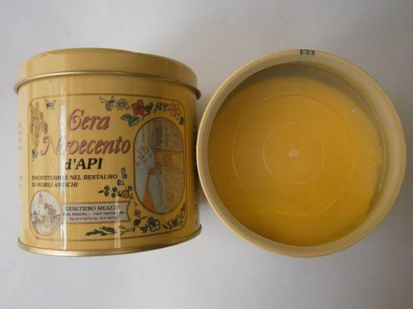 Včelí vosk v paste, 500 ml, žltá