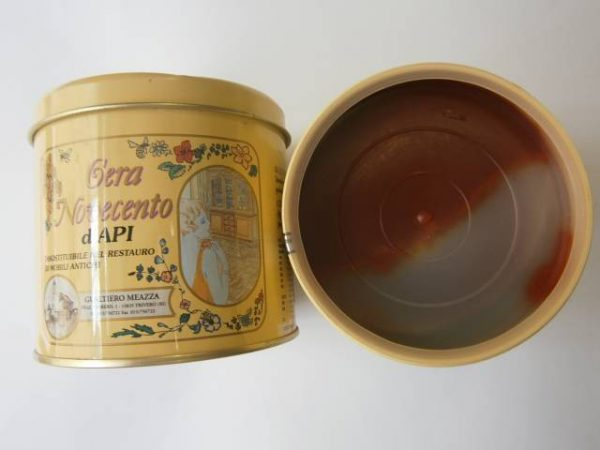 Včelí vosk v paste, 500 ml, svetlý orech