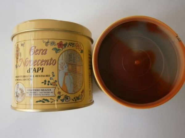 Včelí vosk v paste, 500 ml, mahagón
