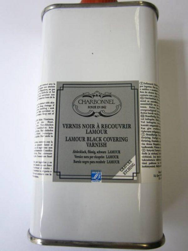 Čierny krycí lak, 250 ml