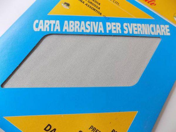 Brúsny papier v listoch, 5 ks, zrn.003